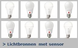 Lichtbronnen met sensor LS