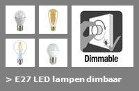 Nav E27 led lampen 2