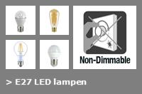 Nav E27 led lampen dim 2