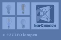 Nav E27 led lampen dim 2 act