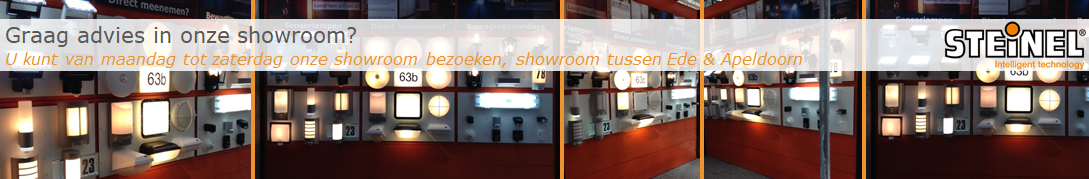 Showroom Steinel Groot